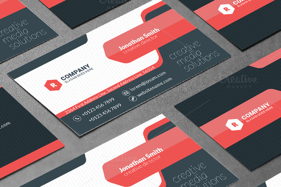 Creative Business Card Template