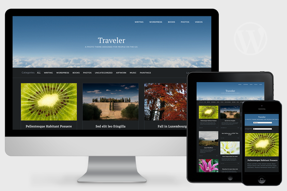 Traveler Visual WordPress Theme