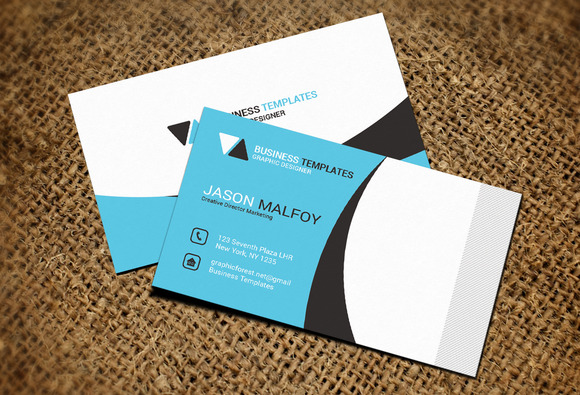 Social Business Card Template