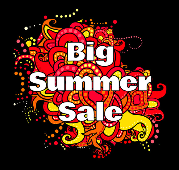 Big Summer Sale Label