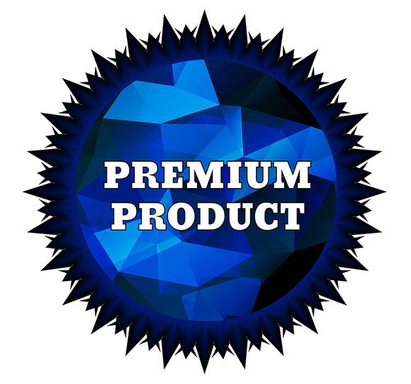 Premium Product Label
