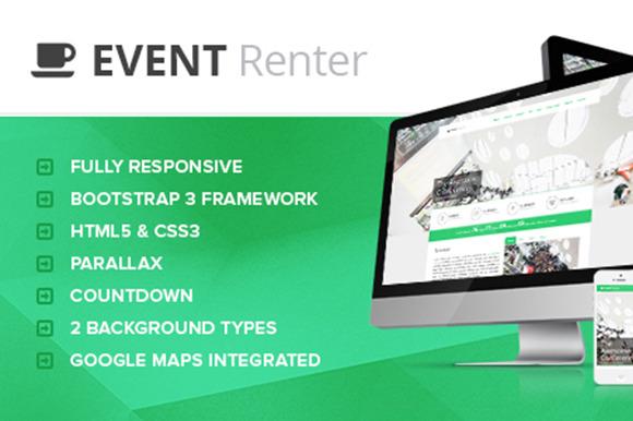 Event Renter Responsive Countdown