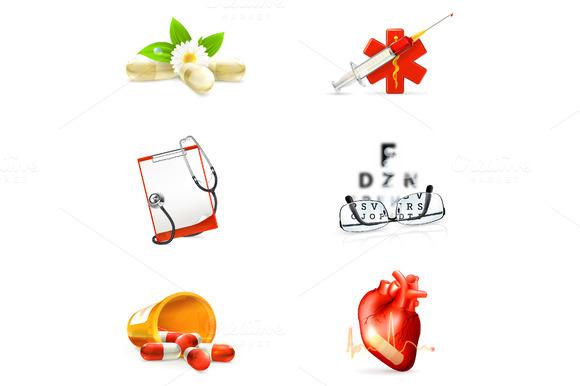 Medicine Vector Icons