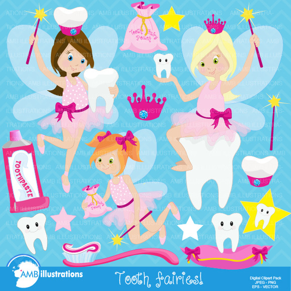 Tooth Fairy Clipart 930