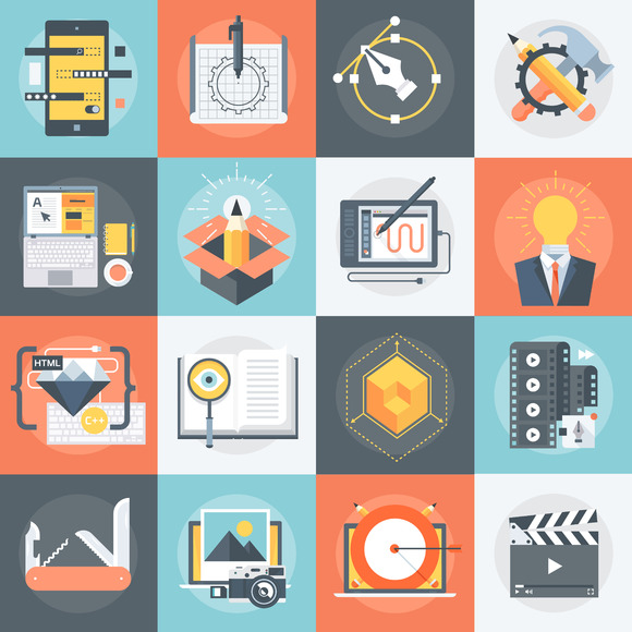 Advanced Design Web Icon Set