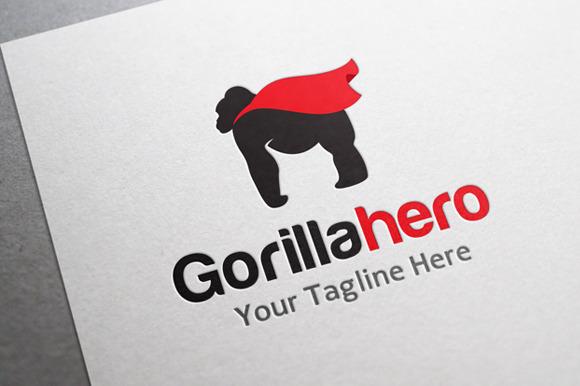 Gorilla Hero Logo