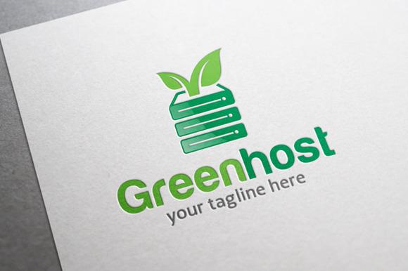Green Host Logo
