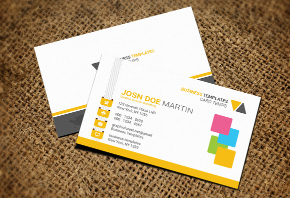 Free Printable Business Cards  Free Business Cards