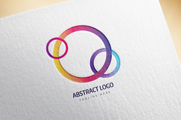 Abstract Vector Logo Element