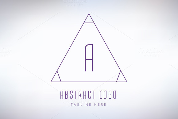 Abstract Vector Logo Element A