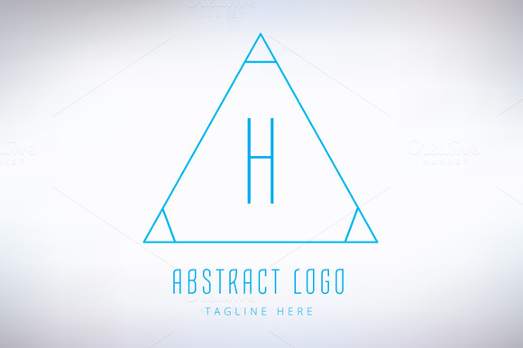 Abstract Vector Logo Element H
