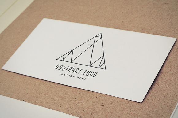 Abstract Vector Logo Element