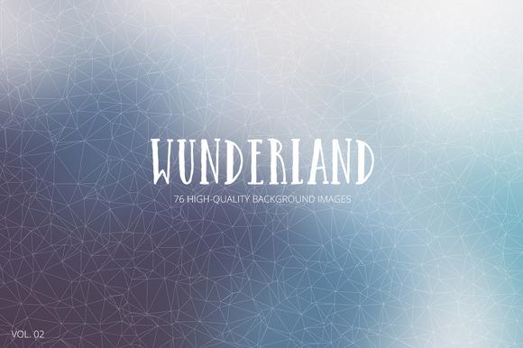 Wunderland 76 Backgrounds Vol 02
