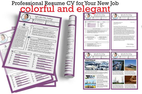 Resume CV New Version Vol.1