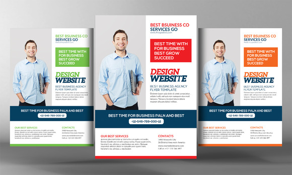 Website Design Agency Flyer Template