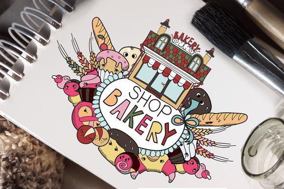 Bakery Shop Doodle