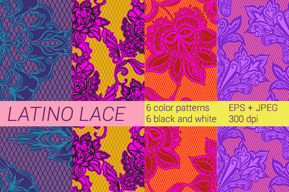 Latino Lace Treasury
