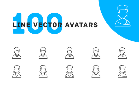 People Vector Avatars Icons