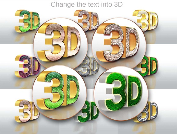 10 3D Text Style 20150702
