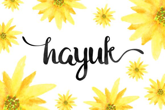 Hayuk Script