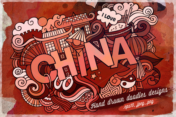 CHINA Vector Illustrations