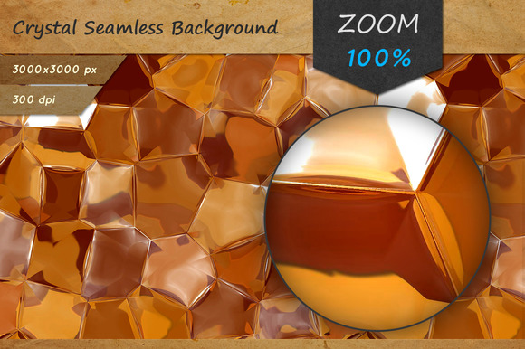 Crystal Seamless Background Texture