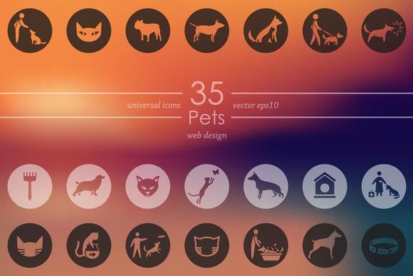 35 PETS Icons