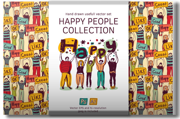 Happy People Vector Collection