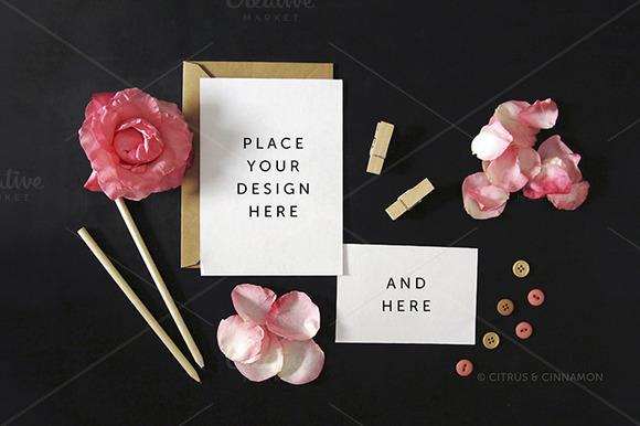 Styled Image Invitation RSVP