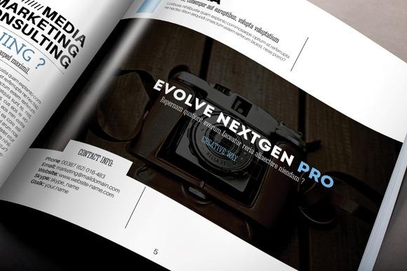 NextGen Square Brochure Template