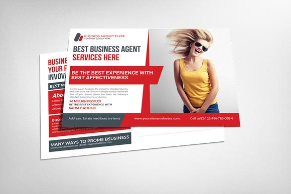 Financial Advisor Postcard Template