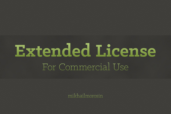 Extended License For One Product
