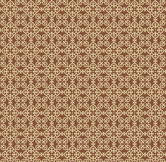 Arabesque Gold Pattern