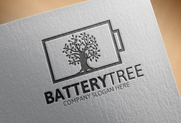 Battery Tree Logo