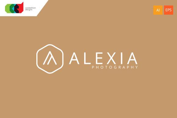 Alexia Letter A Logo Template