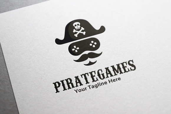 Pirate Game Logo