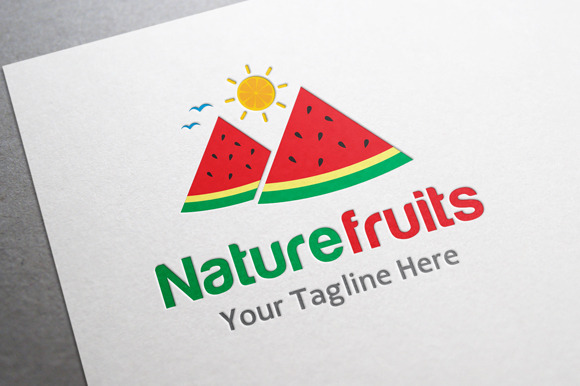 Nature Fruits Logo
