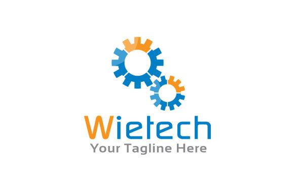 Letter W Logo Gear Logo