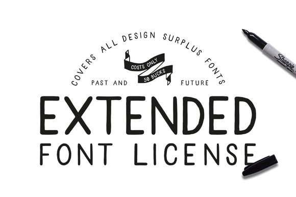 Extended Font License