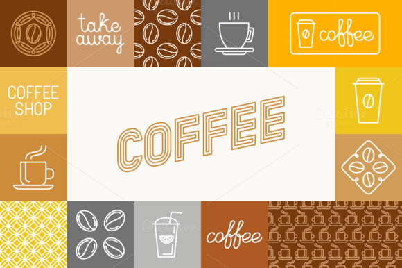 Coffee Icons And Illustrations