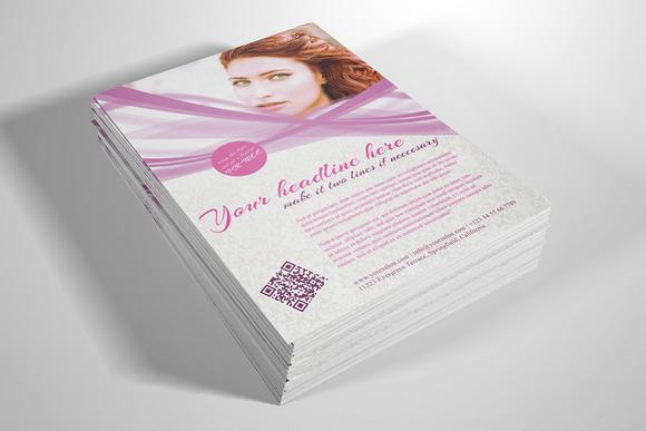 Beauty Studio Flyer Template