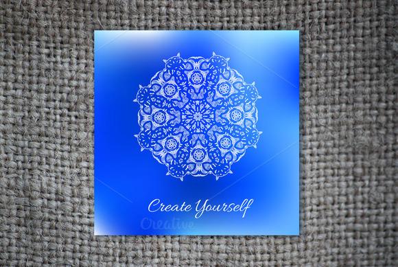Create Yourself Decorative Card