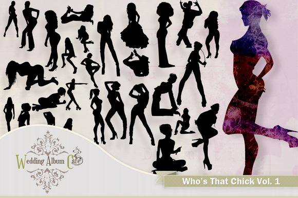 Who S That Chick Woman Silhouettes
