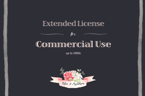 Extended License For Commercial Use