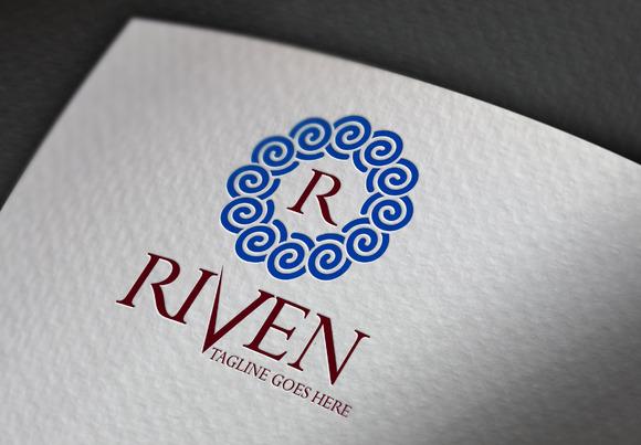 Riven R Letter Logo