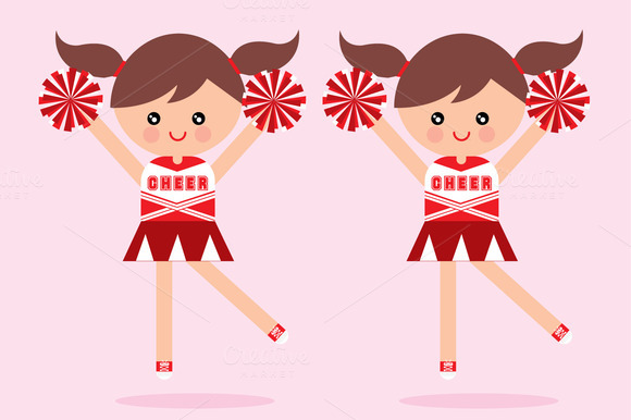 Cheerleader Vector