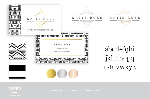 Branding Kit Katie Rose