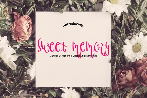 Sweet Memory Typeface