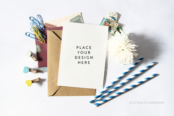 Styled Stock Photography Cards