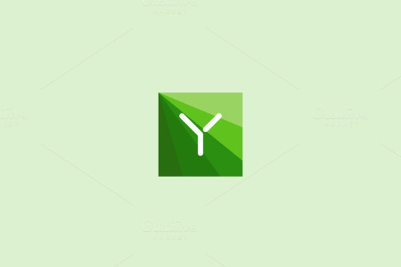 Abstract Letter Y Logo Design